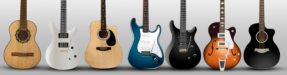 Different Types of Guitar
